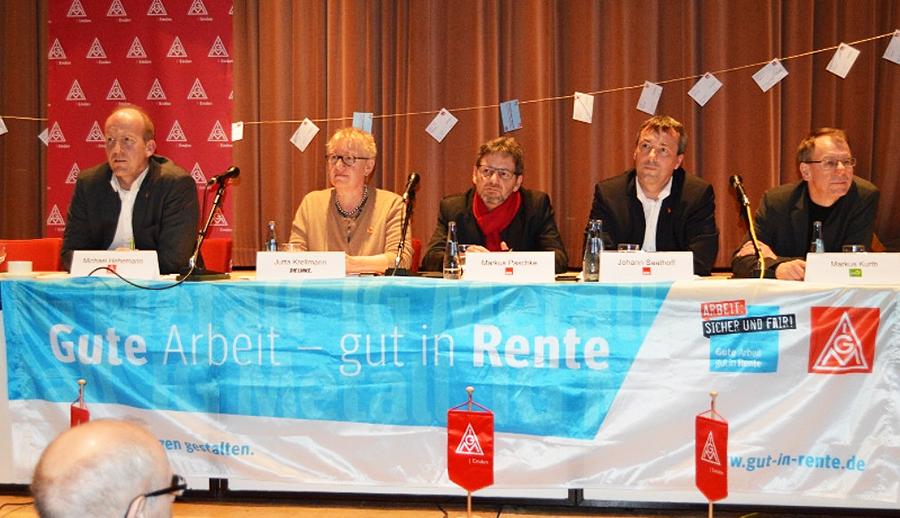 Veranstaltung in Emden – hilft nur noch der Gang auf die Straße?