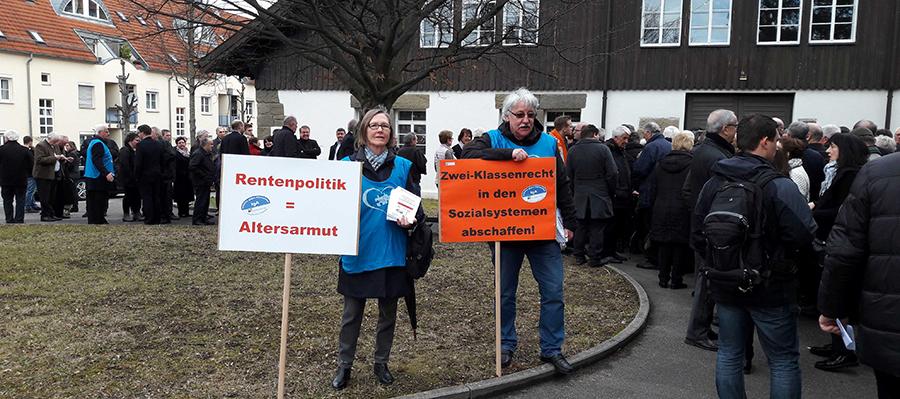Politischer Renten-Aschermittwoch in Fellbach