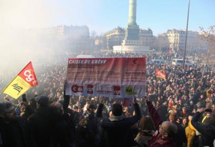 Der Kampf geht weiter, in Frankreich, gegen die neoliberale Rentenreform