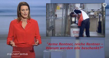 Panorama verliert jeden journalistischen Anstand – INSM-Propaganda zur Rentenpolitik.